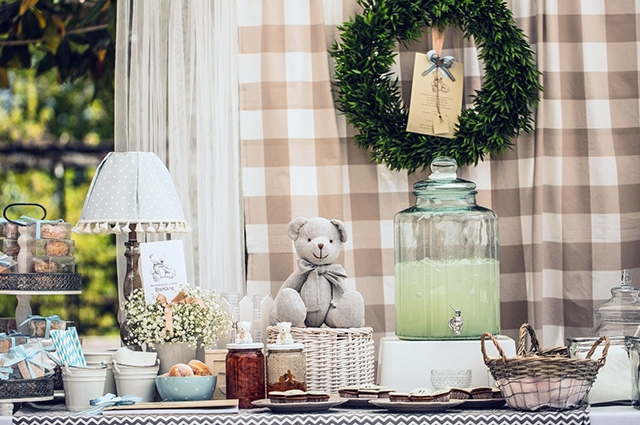 Teddy Bear Christening